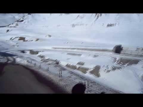Крестовый  перевал зимой.. Тоннели.