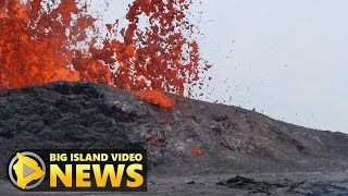 Hawaii Volcano Eruption Update - Monday Night (May 21, 2018)
