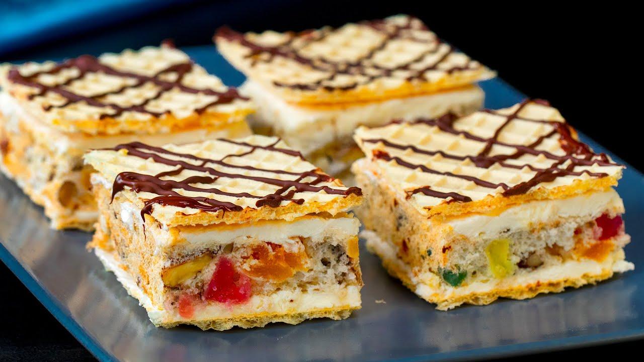 """Egy könnyen elkészíthető desszert, különleges ünnepnapokra -""""Mozaik"""" Sütemény.Cookrate -Magyarország"""
