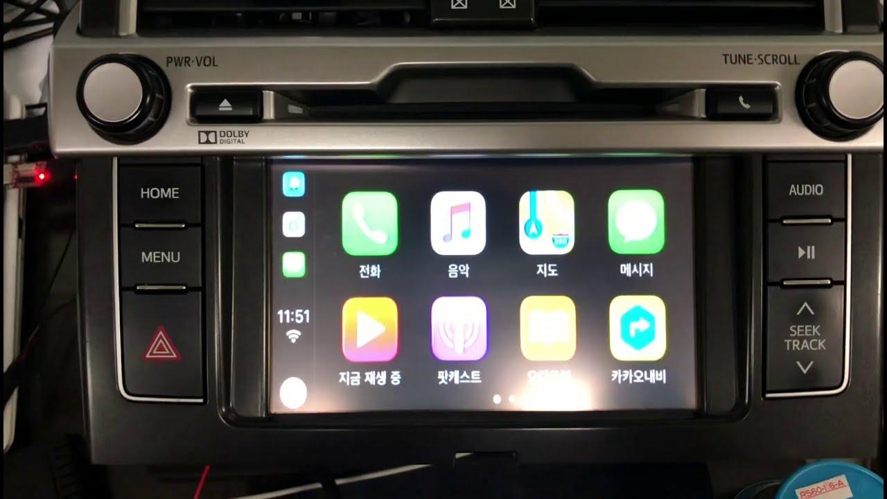 2014 Toyota Land Cruiser Prado from Chile Apple CarPlay OEM Retrofit (100%  Plug & Play) TNG CB