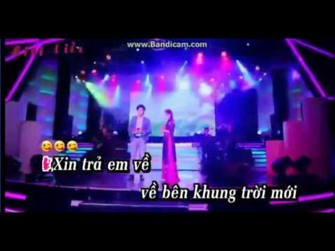 karaoke Xin Tra Cho Em Thiếu giọng nữ