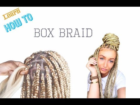 How To Box Braid on Straight Hair _ A Beginners Guide.