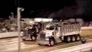 Dump Truck Drag Races