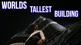 SPENDING NIGHT INSIDE THE WORLD'S TALLEST BUILDING (Burj Khalifa)