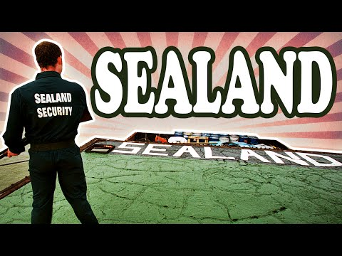 The Tiny Nation of Sealand