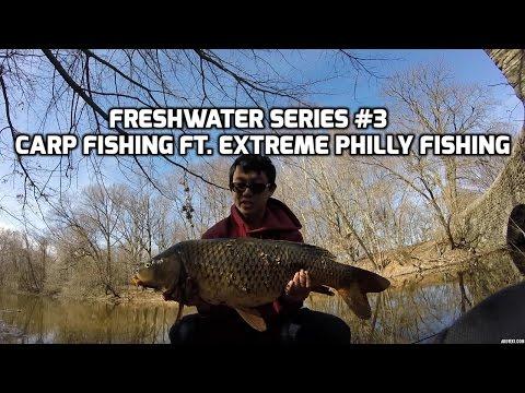Carp Fishing ft. Extreme Philly Fishing - FRESHWATER SERIES Ep. 3