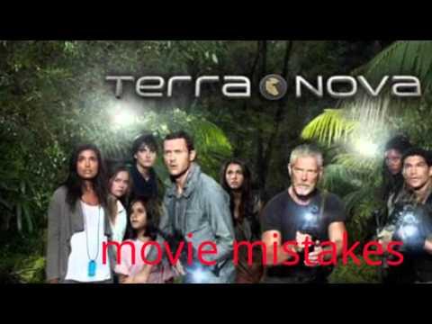 Terra nova movie mistakes