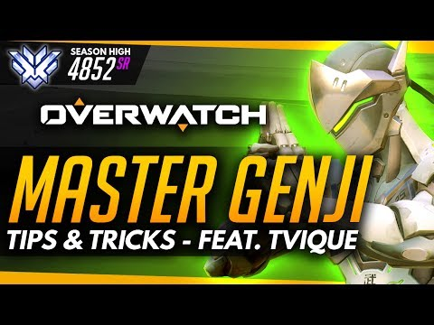 Overwatch | Master Genji ft Tvique (Advanced Guide)