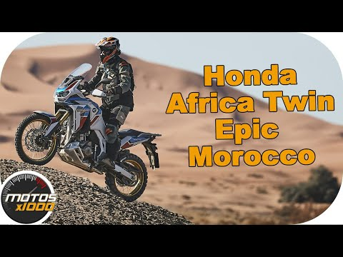 Honda Africa Twin Epic Morocco. ¡A Full sobre la arena!