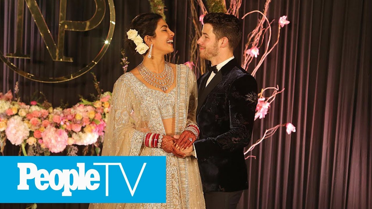 See Priyanka Chopra & Nick Jonas' 7-Tier Wedding Cake Inspired By Palace Where They Wed | PeopleTV
