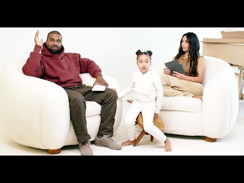 Kim Kardashian and Kanye West's Daughter North Adorably Crashes Interview