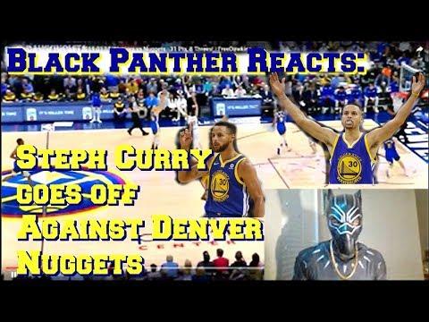 Steph Curry goes crazy Vs Denver Nuggets 1-16-2019