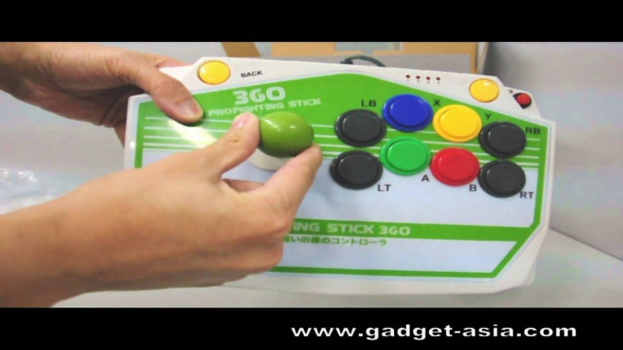 Xbox 360 / PS3 / PC Arcade Fighting Stick |Xbox 360 Fighting Stick