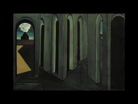 "1913 | ""The Anxious Journey"" by Giorgio deChirico"