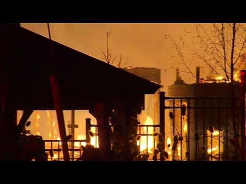 Streetsville construction site inferno