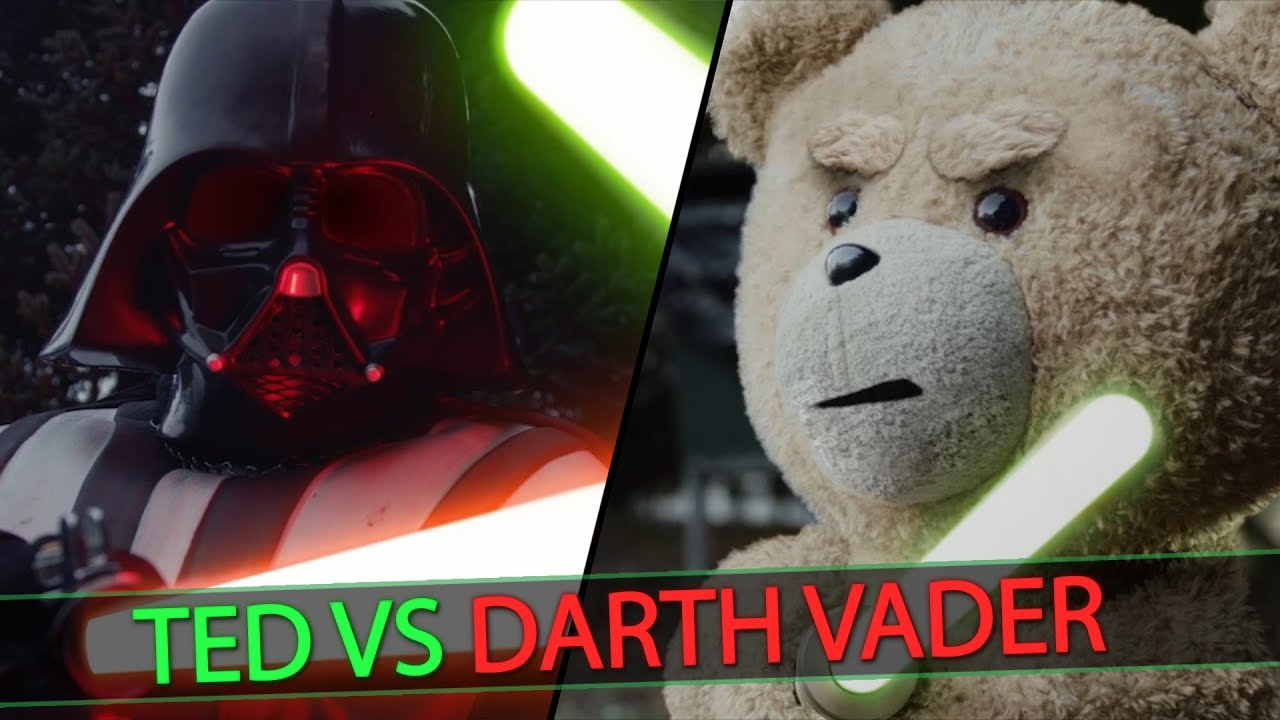 ted vs darth vader | starwars parody (4k) - youtube
