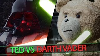 TED VS DARTH VADER | STARWARS PARODY (4K)