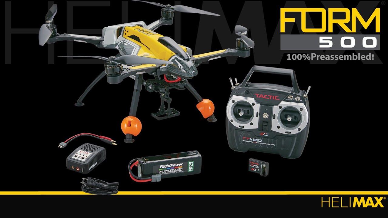Spotlight: FORM500 RTF by Helimax - YouTube