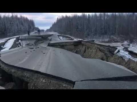 Землетрясение Аляска 30.11.2018