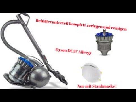 Dyson Dc37 Allergy I Anleitung Zum Zerlegen Reparieren Und Reinigen