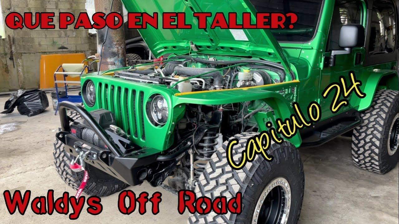 Que Paso en el Taller? Capitulo 24 by Waldys Off Road