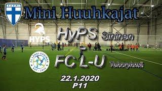 Mini Huuhkajat P11 HyPS Sininen vs FC L-U Tehoryhmä 22.1.2020