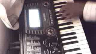 hindi indian song piya tu ab to aja casio keyboard