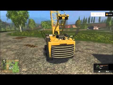 FS15 Mod | Liebherr HS875HD Crawler Crane V1.0