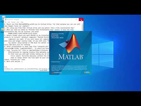 Install MATLAB 2019a For Windows PC | Full Crack Version - 2019