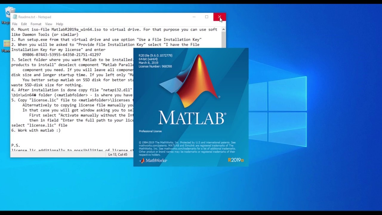 matlab latest version free download for windows 10