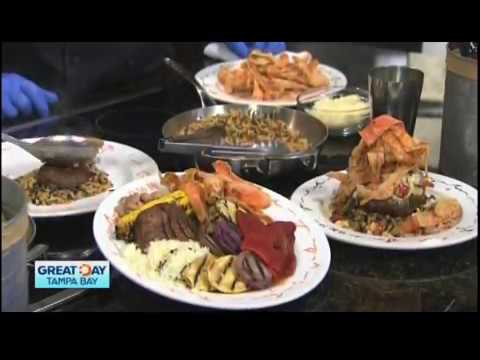 "Ulele - ""Great Day Tampa Bay"" - Vegetarian Options"
