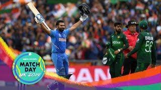 India post 336/5 v Pakistan at Manchester, Rohit scores his 24th ODI hundred