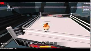 ROBLOX WWE: Bad News Barrett vs Heath Slater FCA Intercontinental Championship. SMS 17 de maio de 2014