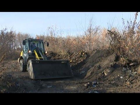 Ликвидация стихийных свалок в Челябинске