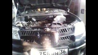 Про успокоитель и ремень ГРМ Mitsubishi Outlander с двигателя 4G63