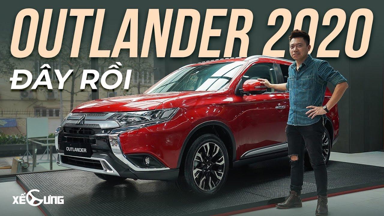 Mitsubishi Outlander 2020 – TRẺ HÓA, THÊM NHIỀU CÔNG NGHỆ đối đầu Mazda CX-5, Honda CR-V, Tucson…