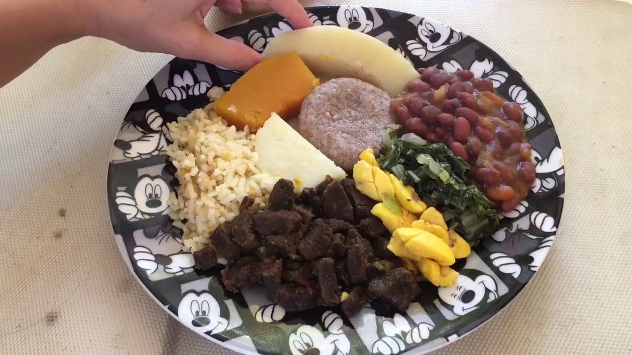 Negril, Jamaica - local Rastafarian food!