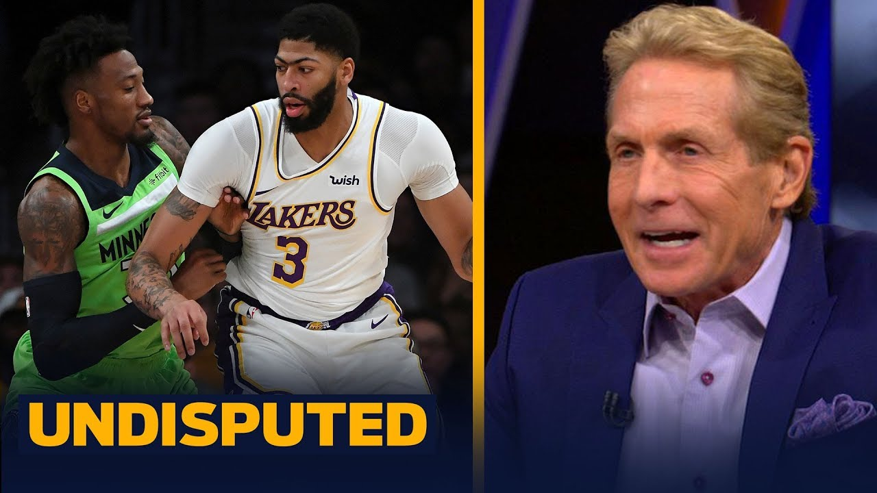 Anthony Davis is 'offensive MVP & defensive MVP rolled into one' — Skip Bayless | NBA