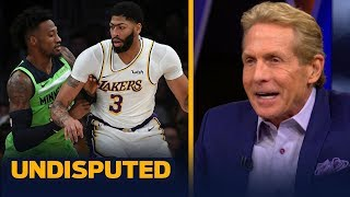 Anthony Davis is 'offensive MVP & defensive MVP rolled into one' — Skip Bayless | NBA | UNDISPUTED