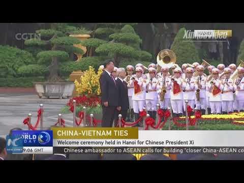 President Xi Jinping pays state visit to Vietnam
