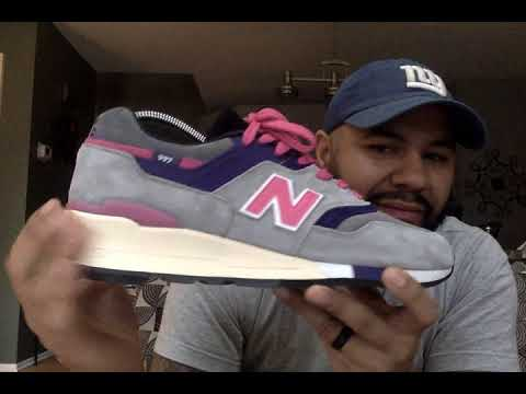 5a299bdd3849f NEW BALANCE 997 KITH X UNITED ARROWS   SONS - YouTube