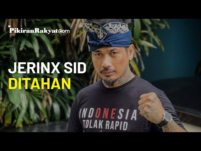 Jerinx SID Resmi Ditahan Usai Ditetapkan sebagai Tersangka Pencemaran Nama Baik IDI