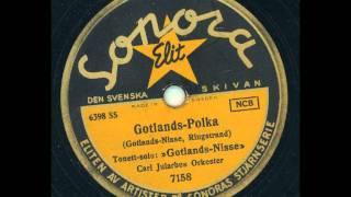 Gotlands Nisse med Carl Jularbos orkester - Gotlands Polka