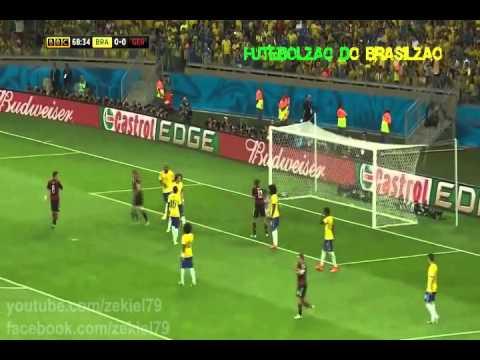 Brasil 1 x 0 Alemanha - Copa do Mundo 2014 - Semifinal