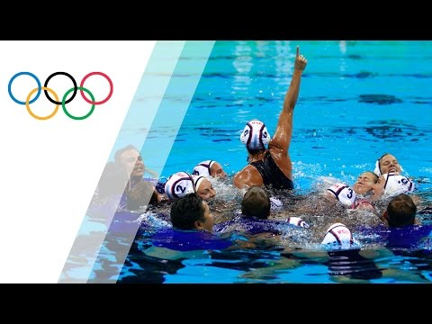 USA wins a second gold in Women's Water Polo