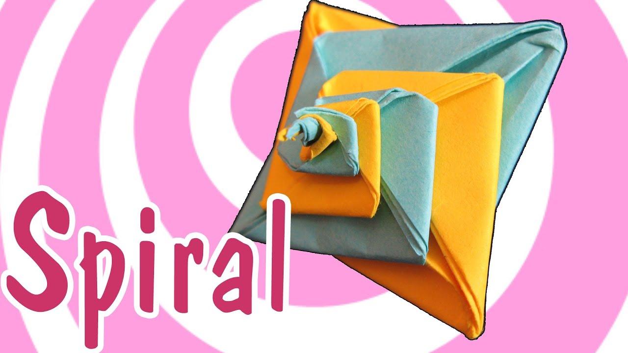modular origami spiral tomoko fuse youtube origami spiral top box by tomoko fuse diagrams in chinese [ 1280 x 720 Pixel ]
