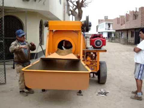 Mezcladora de concreto de 7p3 youtube - Mezcladora de cemento ...