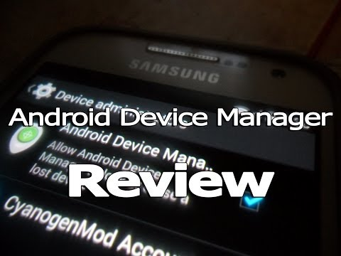 Android Device Manager - Review