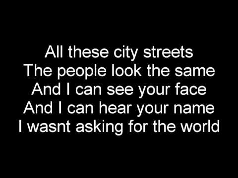 Silverstein - your sword versus my dagger (lyrics)