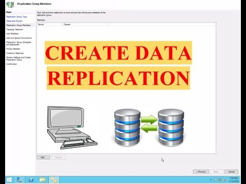 How To Create Data Replication On Window Server 2012 R2